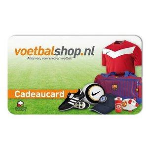 Voetbalshop cadeaukaart