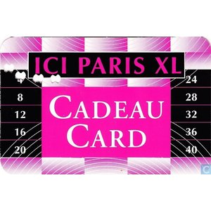 Ici Paris XL cadeaukaart