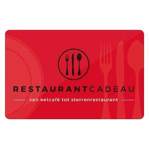 Restaurant cadeaukaart t.w.v. € 10,-