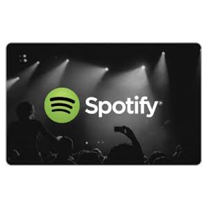 Spotify Gift cadeaukaart