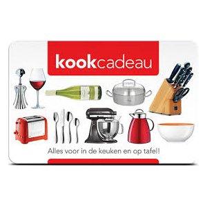 Kook-Cadeau kaart