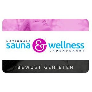 Sauna & Wellness cadeaukaart
