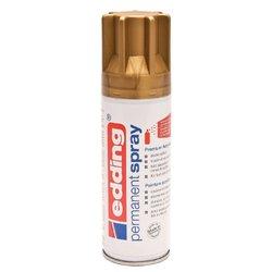 Verfspuitbus edding 5200 permanent spray mat rijkgoud