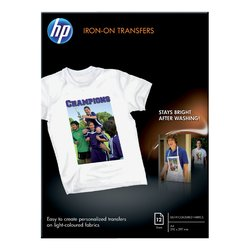 T-shirt transfer HP C6050A A4 170Gr 12vel