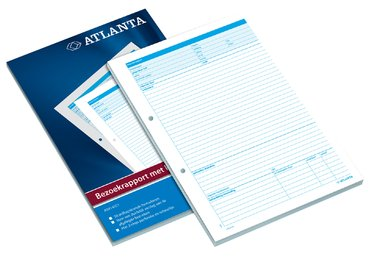 Bezoekrapport Atlanta A4 50x2vel