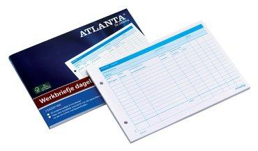 Werkbriefje Atlanta A5 dagelijks 50vel