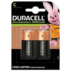 Batterij oplaadbaar Duracell 2xC 3000mAh Plus