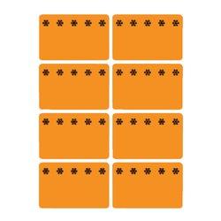 Etiket Herma 3774 26x40mm diepvries oranje 48stuks