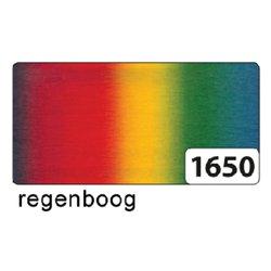 Fotokarton Folia 2zijdig 50x70cm 300gr regenboog
