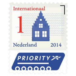 Postzegel Internationaal Nederlandse Iconen 50 stuks