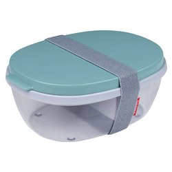 Saladebox Ellipse Nordic groen
