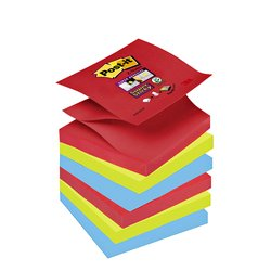 Memoblok 3M Post-it Z-Note S330 Super Sticky 76x76mm Bora-Bora