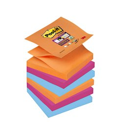 Memoblok 3M Post-it Z-Note S350 Super Sticky 76x76mm Bankok