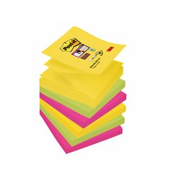 Memoblok 3M Post-it Z-Note S330 Super Sticky 76x76mm Rio