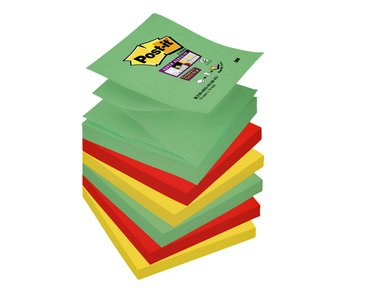 Memoblok 3M Post-it Z-Note S330 Super Sticky 76x76mm Marrakech