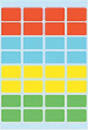 Etiket Herma 3631 12x19mm assorti 160stuks