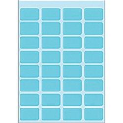 Etiket Herma 3643 12x19mm blauw 160stuks