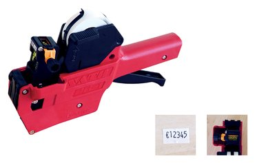 Etiketteertang Sato PB1 1 regel 11x18mm