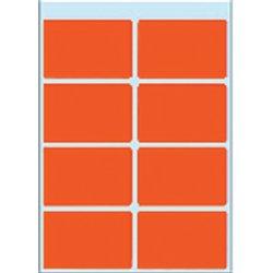 Etiket Herma 3692 26x40mm rood 40stuks