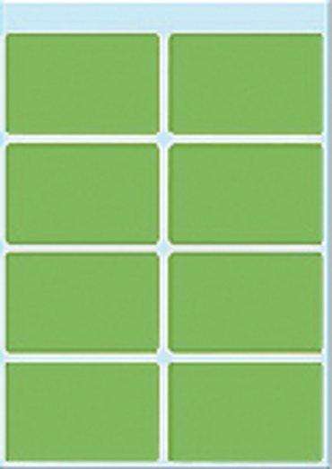 Etiket Herma 3695 26x40mm groen 40stuks