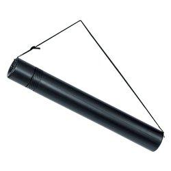 Tekeningkoker Linex zoom 50-90cm doorsnee 6cm zwart