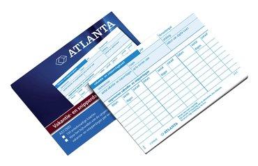 Vakantie- en snipperdagenkaart Atlanta 100stuks