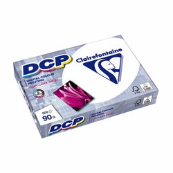 Laserpapier Clairefontaine DCP A4 90gr wit 500vel