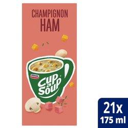 Cup-a-soup champignon/ham soep 21 zakjes