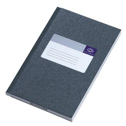 Notitieboek Atlanta 192blz gelineerd grijs