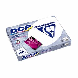 Laserpapier Clairefontaine DCP A4 160gr wit 250vel