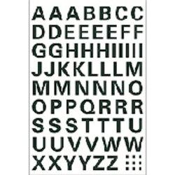 Etiket Herma 4158 10mm letters A-Z zwart
