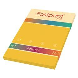Kopieerpapier Fastprint A4 120gr goudgeel 100vel
