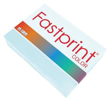 Kopieerpapier Fastprint A4 120gr lichtblauw 250vel