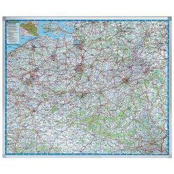 Landkaart Legamaster Belgie 101x121cm