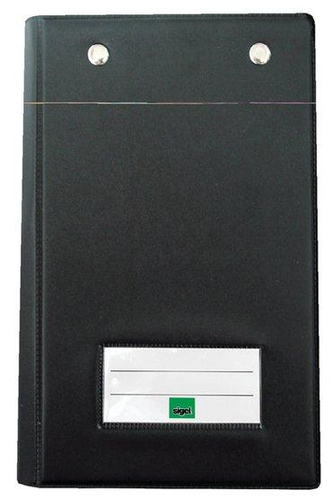 Kassablokhouder Expres SI-KC626 met 2 klemmechanieken zwart
