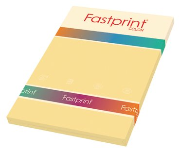 Kopieerpapier Fastprint A4 160gr donkerchamois 50vel