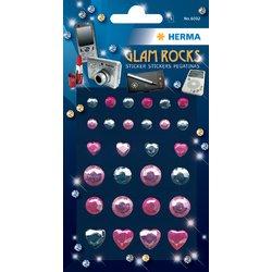 Etiket Herma diamant glam rocks