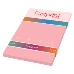 Kopieerpapier Fastprint A4 160gr roze 50vel