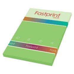 Kopieerpapier Fastprint A4 160gr helgroen 50vel