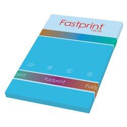 Kopieerpapier Fastprint A4 160gr azuurblauw 50vel