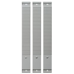 Planbord Element 50 sleuven 77mm grijs