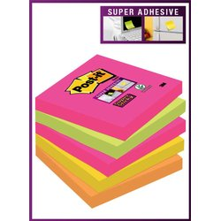 Memoblok 3M Post-it 654 Super Sticky 76x76mm Cape Town