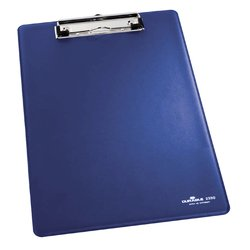 Klembord Durable 2350 A4 met kopklem blauw