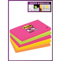 Memoblok 3M Post-it 655 Super Sticky 76x127mm Cape Town