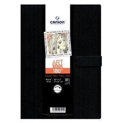Tekenboek Canson Art 216x279mm 180graden 96gram 80vel