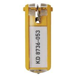 Sleutellabel Durable 1957 met ring geel