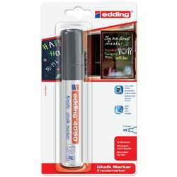 Viltstift edding 4090 window schuin zwart 4-15mm op blister