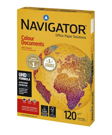 Kopieerpapier Navigator Colour Documents A4 120gr wit 250vel