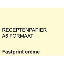 Receptpapier Fastprint A6 80gr creme 2000vel