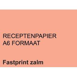 Receptpapier Fastprint A6 80gr zalm 2000vel